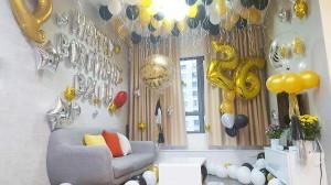 Trang trí phòng sinh nhật trọn gói