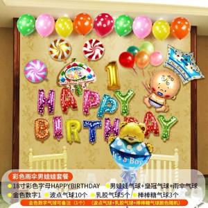 Bộ chữ trang trí sinh nhật cho bé