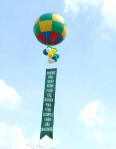 Bơm bóng bay khí cầu