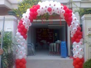 Kết cổng bóng bay Hà Nội