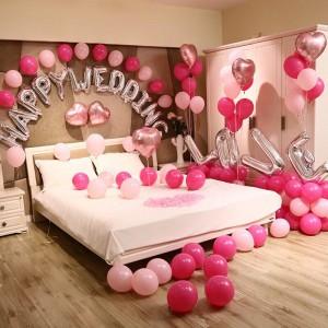 Set trang trí phòng cưới