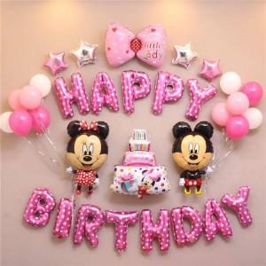 Bộ chữ sinh nhật mickey