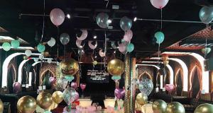Combo trang trí phòng sinh nhật