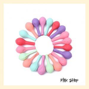 ??? Sỉ Bóng Bay Màu Pastel – Bóng bay trang trí sinh nhật giá rẻ (gói 100 quả 28 cm)