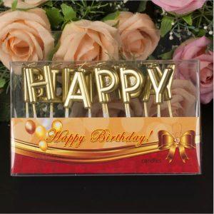 Bộ nến chữ trang trí bánh, đèn cầy trang trí sinh nhật