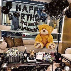 Bộ bóng bay chữ happy birthday trang trí sinh nhật MM566
